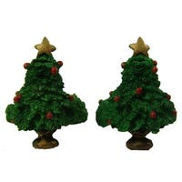 """Club Pack Of 288 Christmas Tree Taper Candle Rings 1.5"""""""