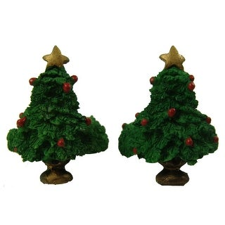 Club Pack Of 288 Christmas Tree Taper Candle Rings 1.5""