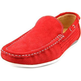 Masimo New York Austin Round Toe Leather Loafer