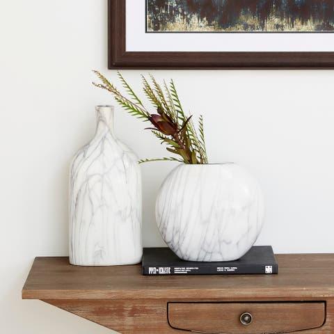 Grey Stoneware Contemporary Vase (Set of 3)