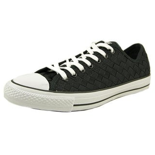 Converse Chuck Taylor All Star Ox Men Round Toe Canvas Black Sneakers