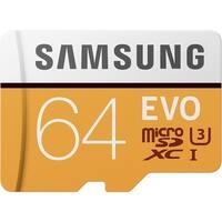 Samsung MicroSDXC EVO Memory Card - 64GB Memory Card