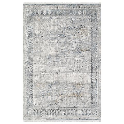 Alice Contemporary Transitional Power Loomed Area Rug