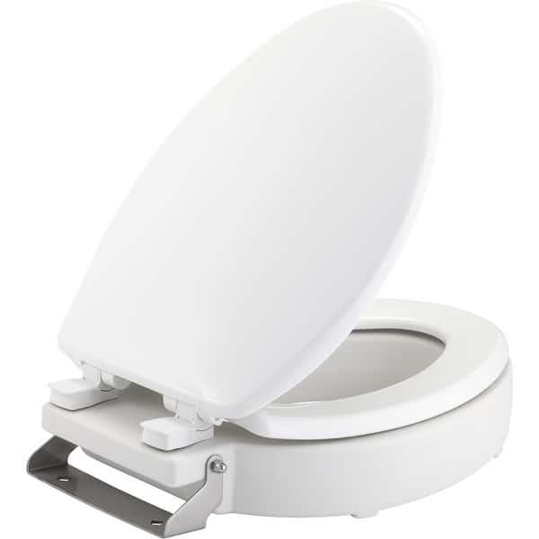 Amazing Bemis 4Let Medic Aid Elongated Closed Front Toilet Seat White Onthecornerstone Fun Painted Chair Ideas Images Onthecornerstoneorg
