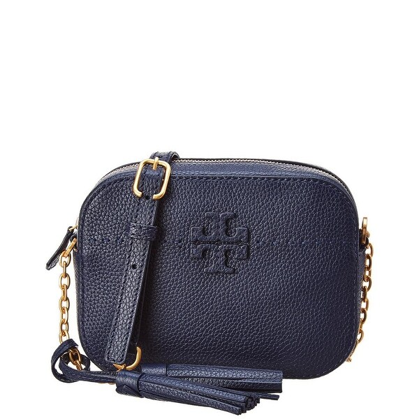 5ded7afc3b88 Shop Tory Burch Mcgraw Camera Bag - Free Shipping Today - Overstock -  27029749