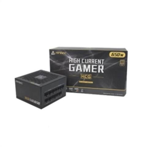 Antec Power Supply HCG650 GOLD 120mm 650 Watts 80+G FAN MODULAR Retail