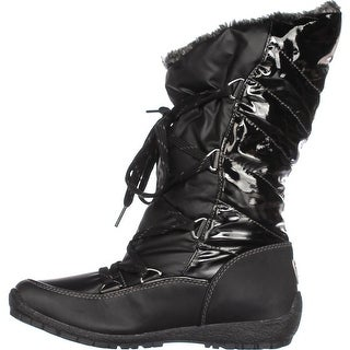 Sporto Womens Charley Square Toe Mid-Calf Cold Weather Boots
