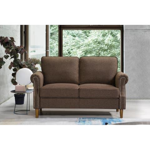 loveseat flax living room sofa