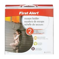 First Alert EL52-2 Fire Escape Ladder, 14'