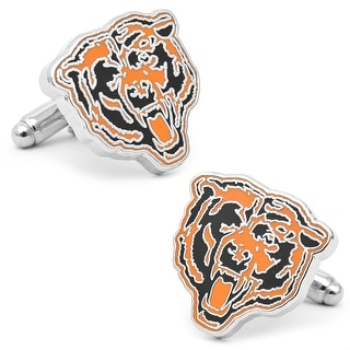 Vintage Chicago Bears Cufflinks - Orange