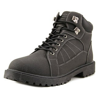Donner Mountain Iron  Men  Round Toe Synthetic Black Work Boot