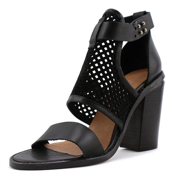 Sixtyseven 76043 Women Black Sandals