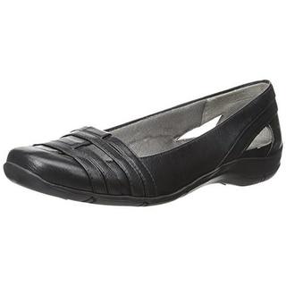 LifeStride Womens Darcine Dress Shoes Faux Leather Woven