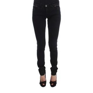 Costume National Costume National Black Cotton Slim Fit Denim Jeans - w26