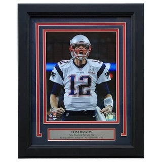 Tom Brady New England Patriots Framed 8x10 Scream Photo