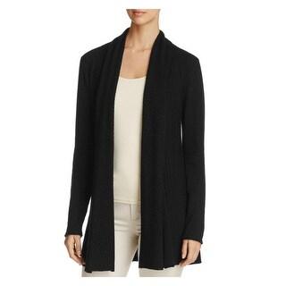 Vila Milano Womens Cardigan Sweater Pleated Long Sleeves