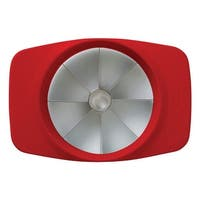 Chef'N 102-004-176 Apple Corer/Slicer, Plastic, Red