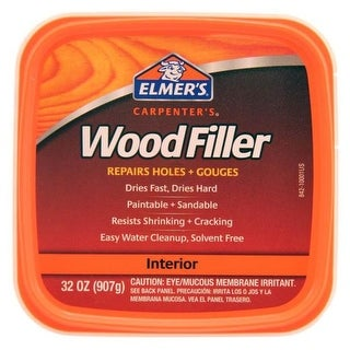 Elmer's E842L Carpenter's Interior Wood Filler, Quart