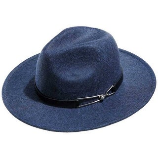 Mad Style Blue Panama Flannel Hat