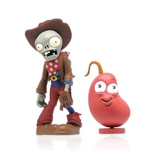 "Plants Vs Zombies 3"" Figure 2-Pack: Cowboy Zombie & Chili Bean - multi"