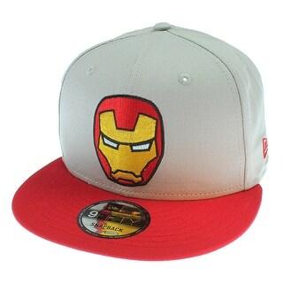Tokidoki Marvel Iron Man New Era 9Fifty Men's Grey Snapback Hat