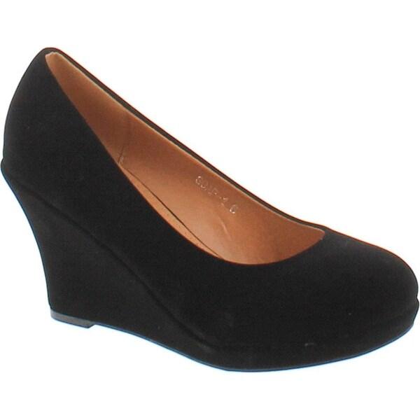 Top Moda Soap-1 Wedges Pumps-Shoes
