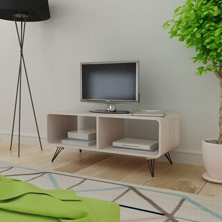 "vidaXL TV Cabinet 35.4""x15.4""x15.2"" Wood Brown"