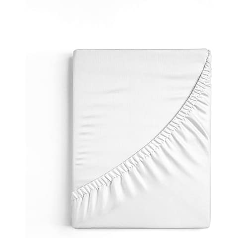 Organic Cotton Percale Fitted Sheet
