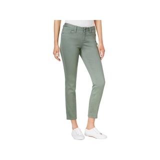 Earl Jean Womens Ankle Jeans Denim Skinny
