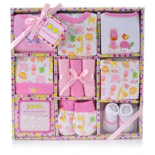 JOON 10-Piece New Born, Essentials Gift Set, 0-6 Month