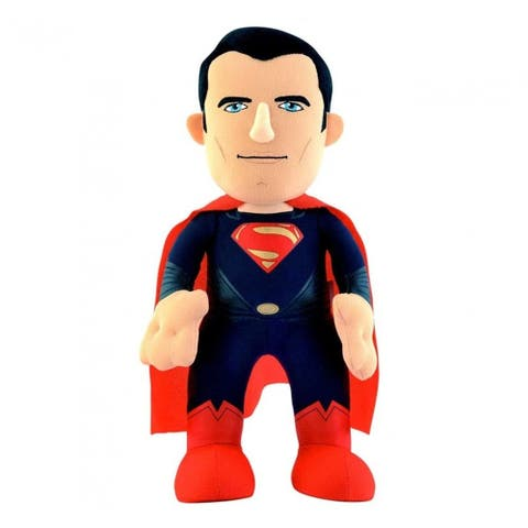 DC Comics Bleacher Creature 10 Inch Plush Doll - Man of Steel Superman - Multi