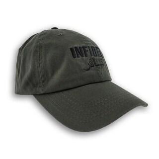 Olive Green INFIDEL Adjustable Baseball Cap Patriotic Hat Arabic