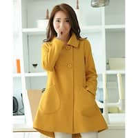 Large size women's clothing Fat MM Korean  loose  and long section