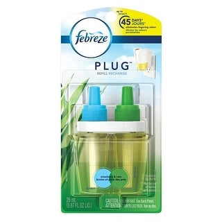Febreze 74902 Dual Scented Air Freshener Oil Refill, 0.87 Oz