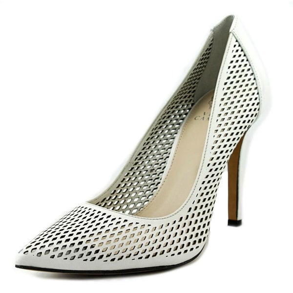 Vince Camuto Caila Women Pointed Toe Leather White Heels