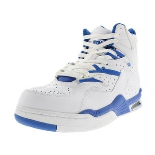British Knights Mens Enforcer Leather High-Top Fashion Sneakers