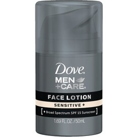 Dove Men+Care Face Lotion, Sensitive 1.69 oz