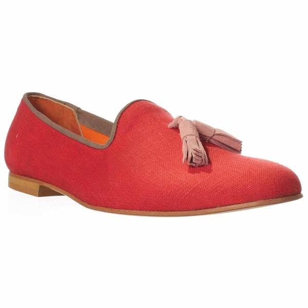 Bettye Muller Astor Flat Loafers - Red - 8.5