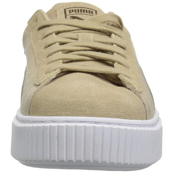 puma platform safari suede sneakers