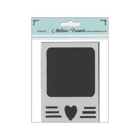 St4051 melissa frances stencil 3x4 polaroid heart