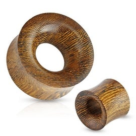 Concave Hollow Saddle Fit Snake Wood Organic Tunnel (Sold Individually)