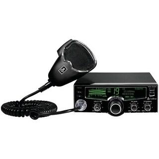 Cobra 25 LX 4-Color LCD Compact CB Radio 40-CB channels 4-Pin Refurbished