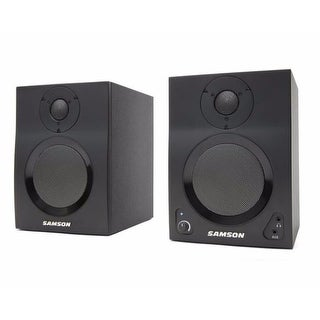 Samson Technologies MediaOne BT4 Active Studio Monitors with Bluetooth