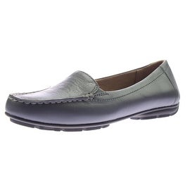 Naturalizer Womens Kettle Leather Moc Toe Loafers - 7 medium (b,m)