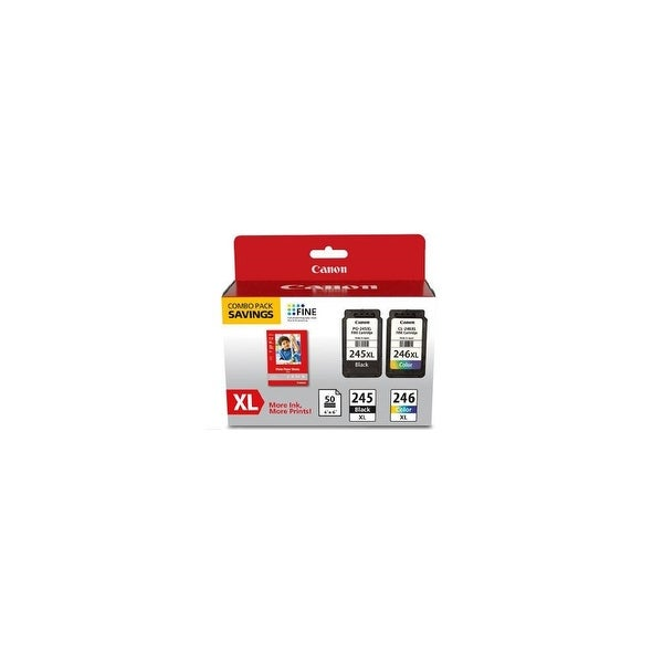 Canon PG 245 XL CL 246XL 2 Pack Ink Cartridge