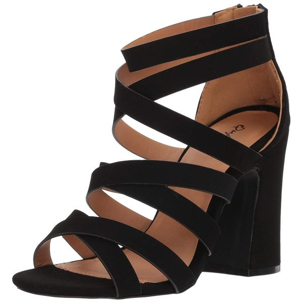 797e20a13ed Buy Black Qupid Women s Sandals Online at Overstock