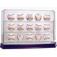 Baseball 15Ball Glass Deluxe Display Case