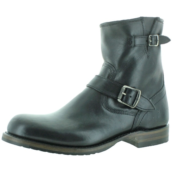 Frye Logan Engineer Men's Leather Buckle Boots