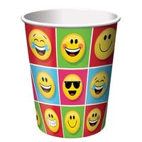 Show Your Emojions 9oz Hot/Cold Paper Cups: 8 Count - Multi