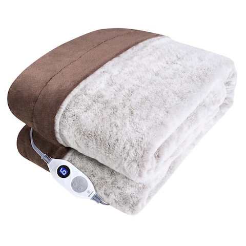 Westinghouse Electric Blankets Reversible Plush Heating Throws